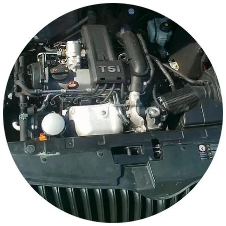 мотор ТСИ а Шкоде